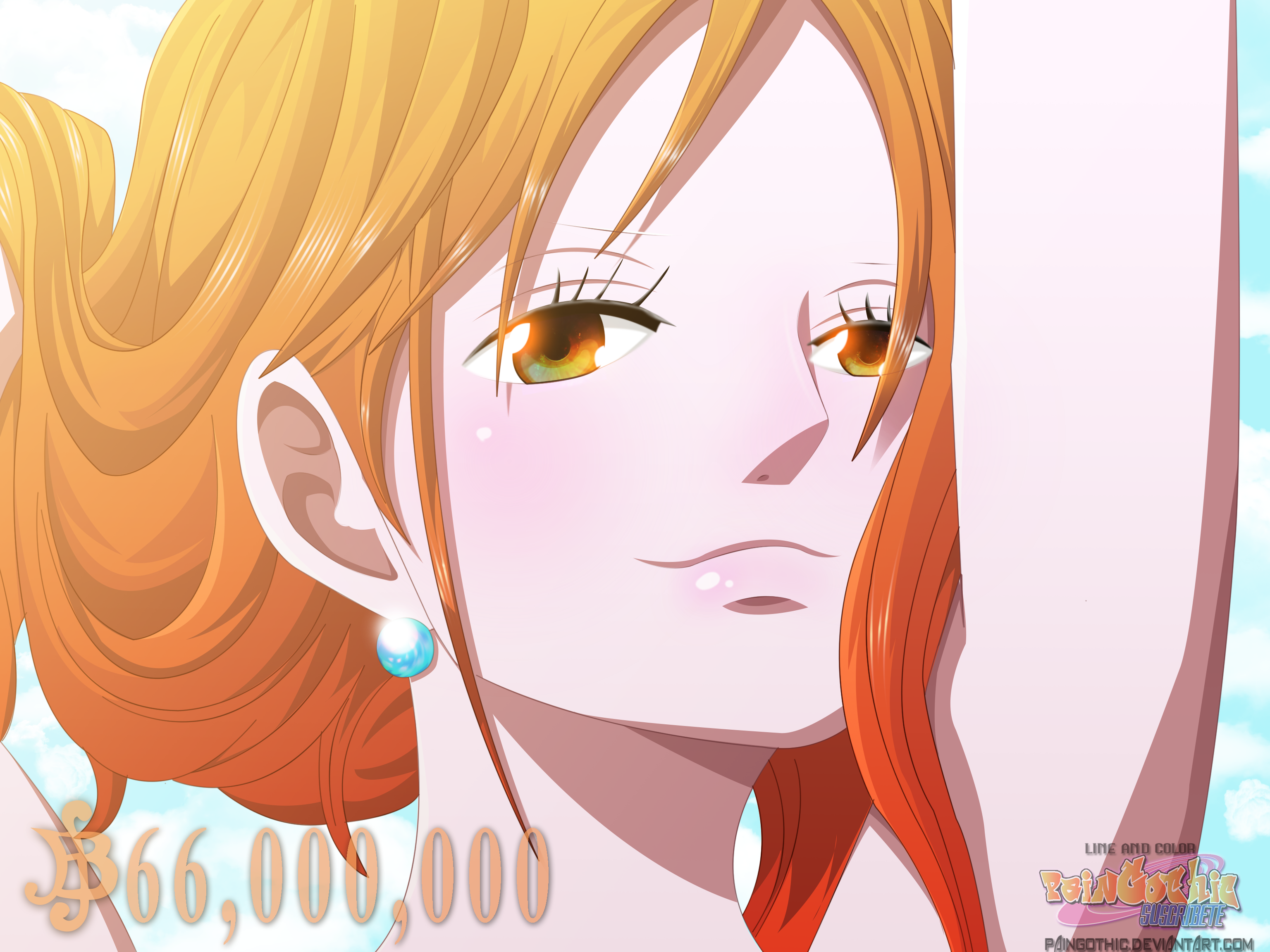 Nami New Wanted - One Piece by PainGothic on DeviantArt