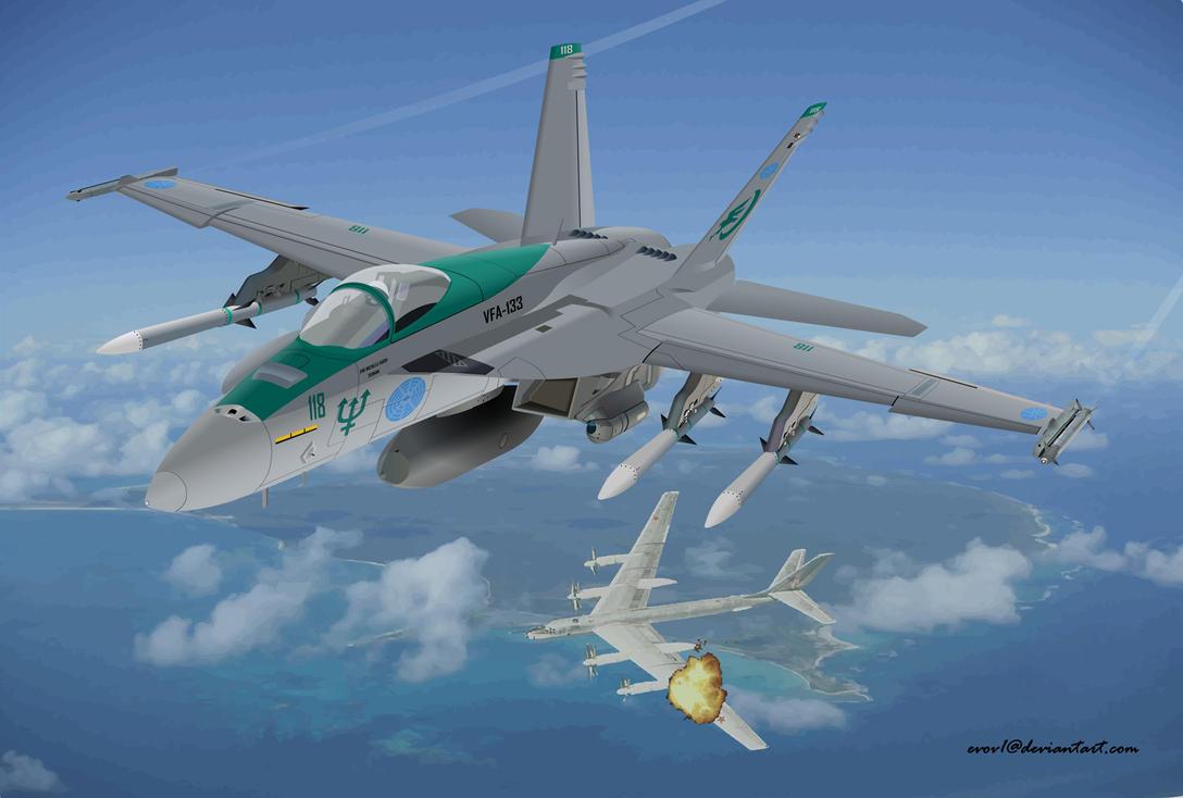 ACP FA-18E Super Hornet by EVOV1