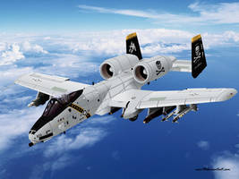 A-10 Thunderbolt II by EVOV1
