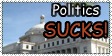 Politix Sux Stamp by AngelofVideogames