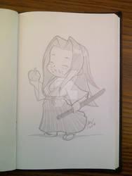 Ukyo Tachibana Eats