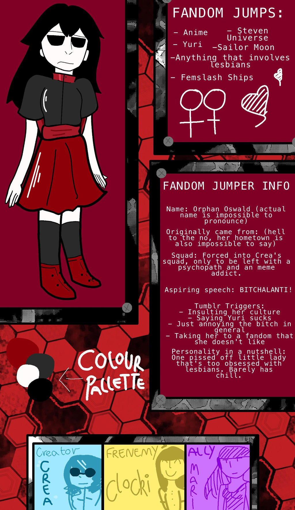 FANDOM JUMPER: ORPHAN by Cl0k1 on DeviantArt