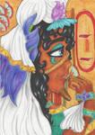 seshen pharaoh of water lylies- comisison by terraaremar