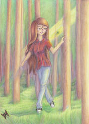into the woods- comision for angelicbrush