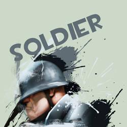 Soldier. by kungfuryan2