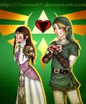 LINKandZELDA- Valentine's Day