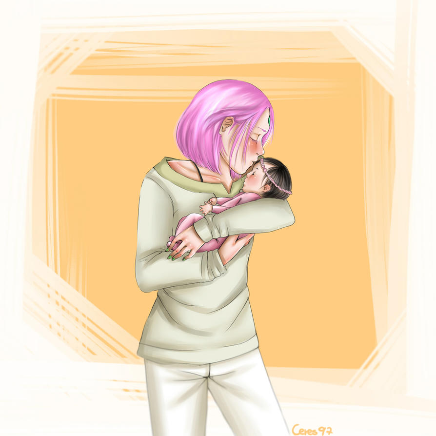 Sasusaku-Baby by Ceres97