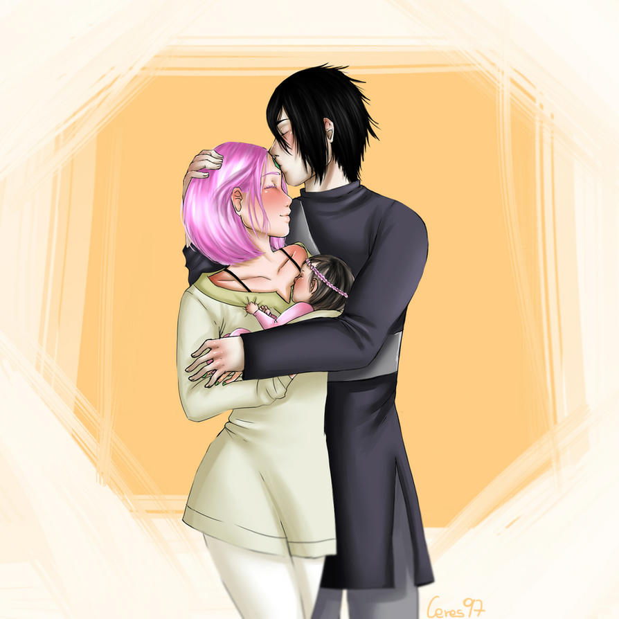 Sasusaku- Baby 2 by Ceres97