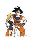C-18 Vs Goku 01
