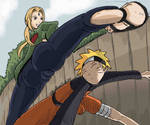 Tsunade Vs Naruto Part 1