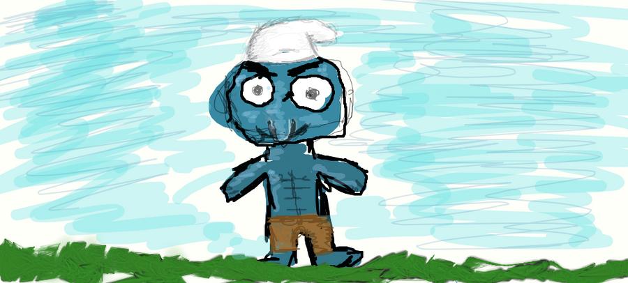 Smurf-off by danlev