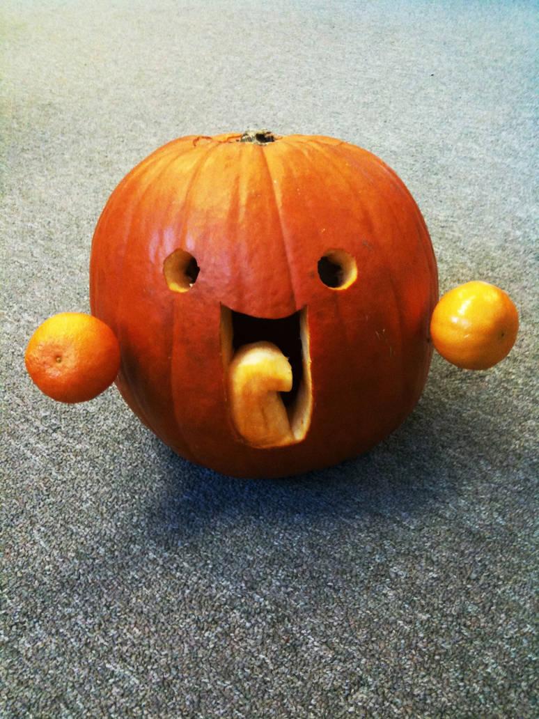 :la: Emoticon Pumpkin by danlev