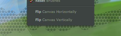 Flip Canvas Tools in deviantART muro by $danlev