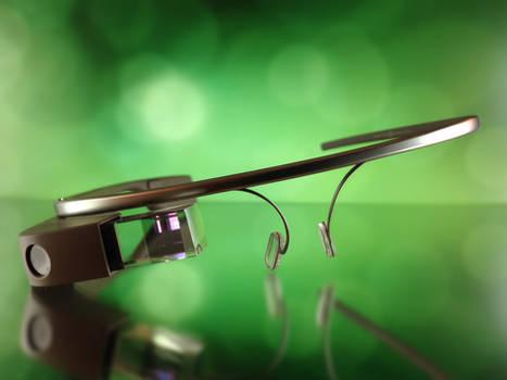 Free Google Glass Stock Photo
