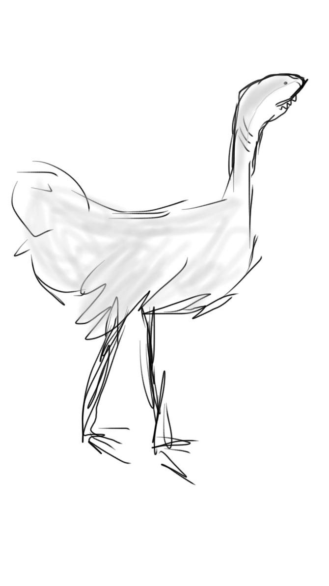 Ostrichark by danlev
