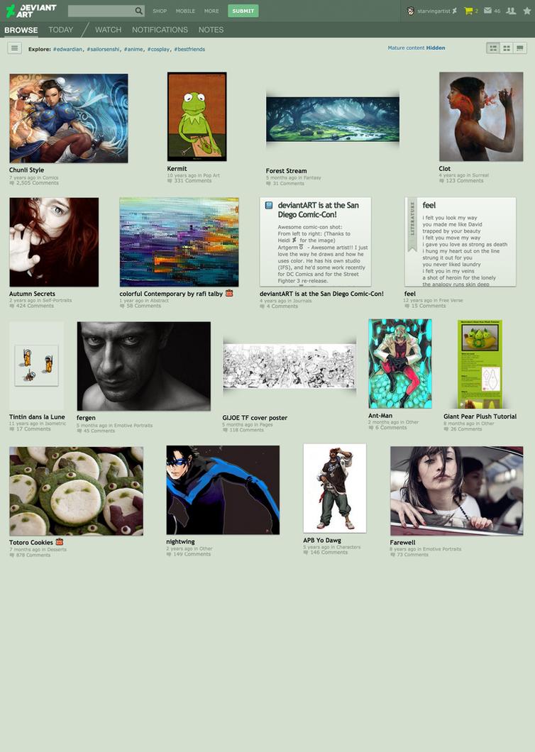 1a Desktop   Wall By Starvingartist D8uzxzz By Dan by danlev