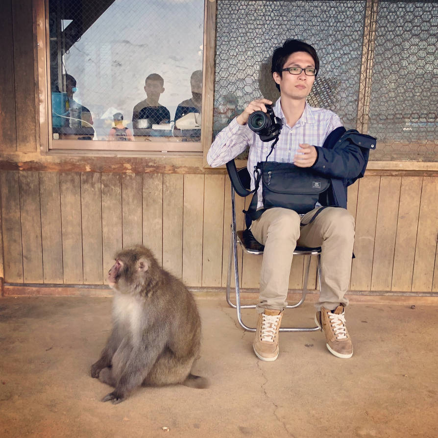 Monkey And A Man