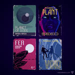 Vintage Sci Fi Covers