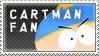 Cartman Fan Stamp by Sonic-Gal007