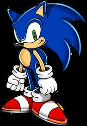 Sonic the Hedgehog (Sonic Adventure Art Style)