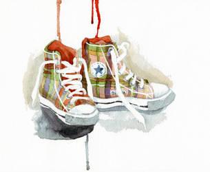 Converse by LyndseyWells
