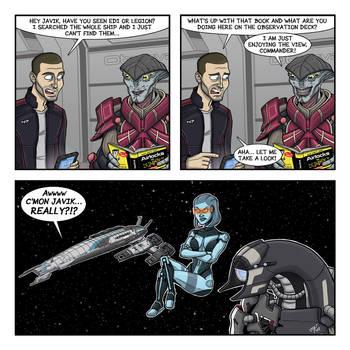 Mass Effect 3: Airlock by drawinkpaper