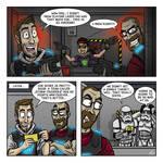 Webcomic - Dailies: Laser Tag
