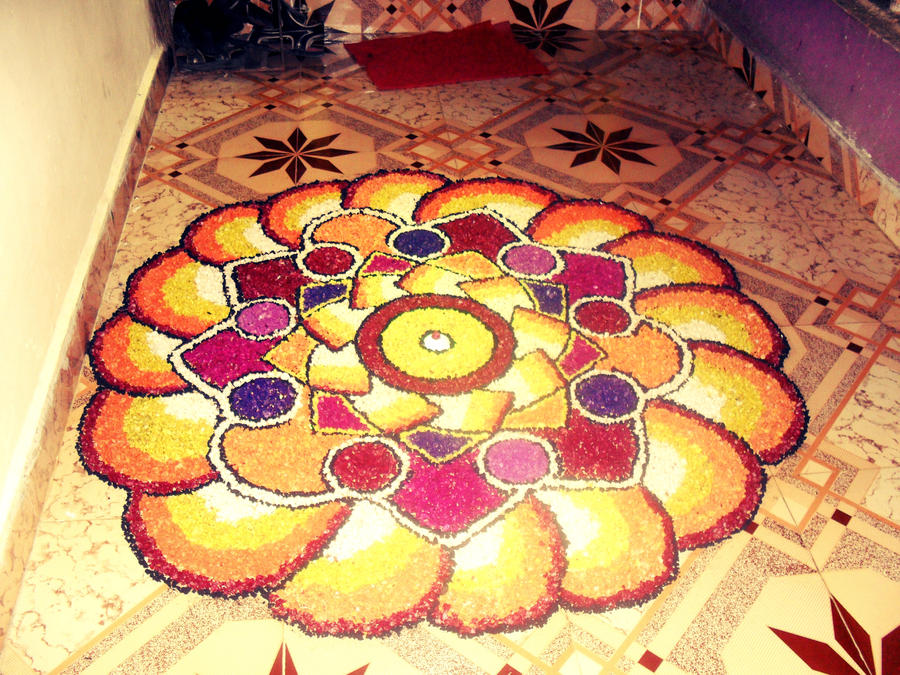 Rangoli by swapthat