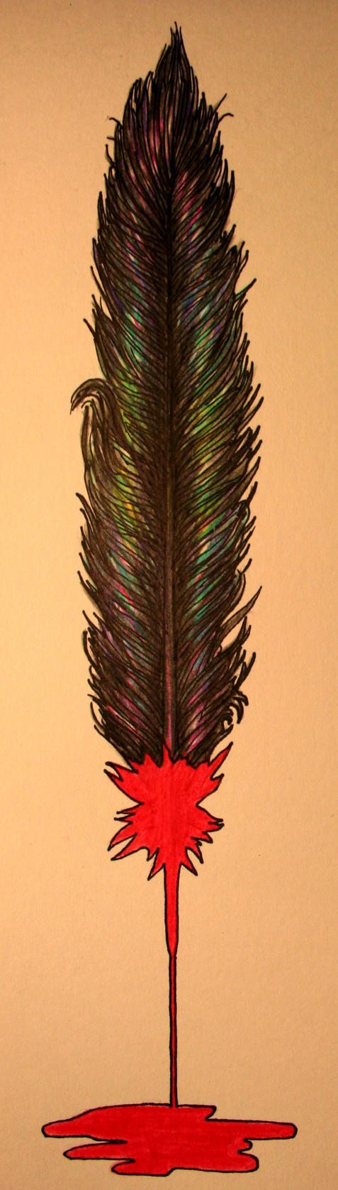 Blood Feather by infinitymc