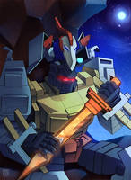 Grimlock the Dinobot King by ErikaGSkerzz