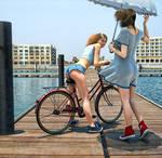 Breezy boardwalk