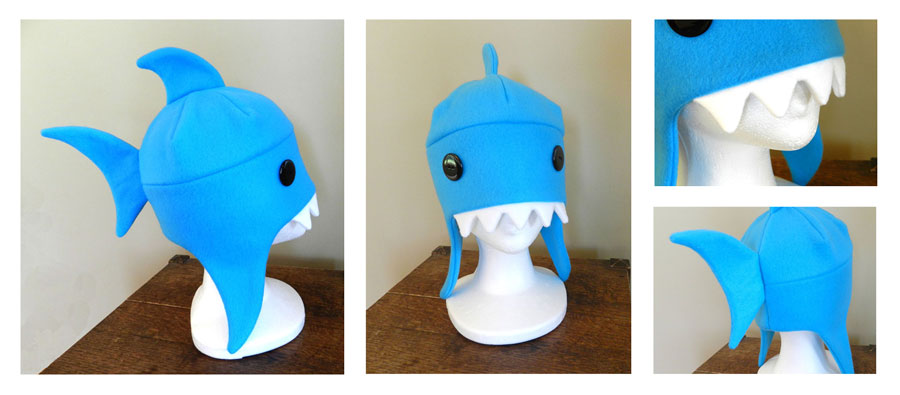 Shark Hat by NinaKanti