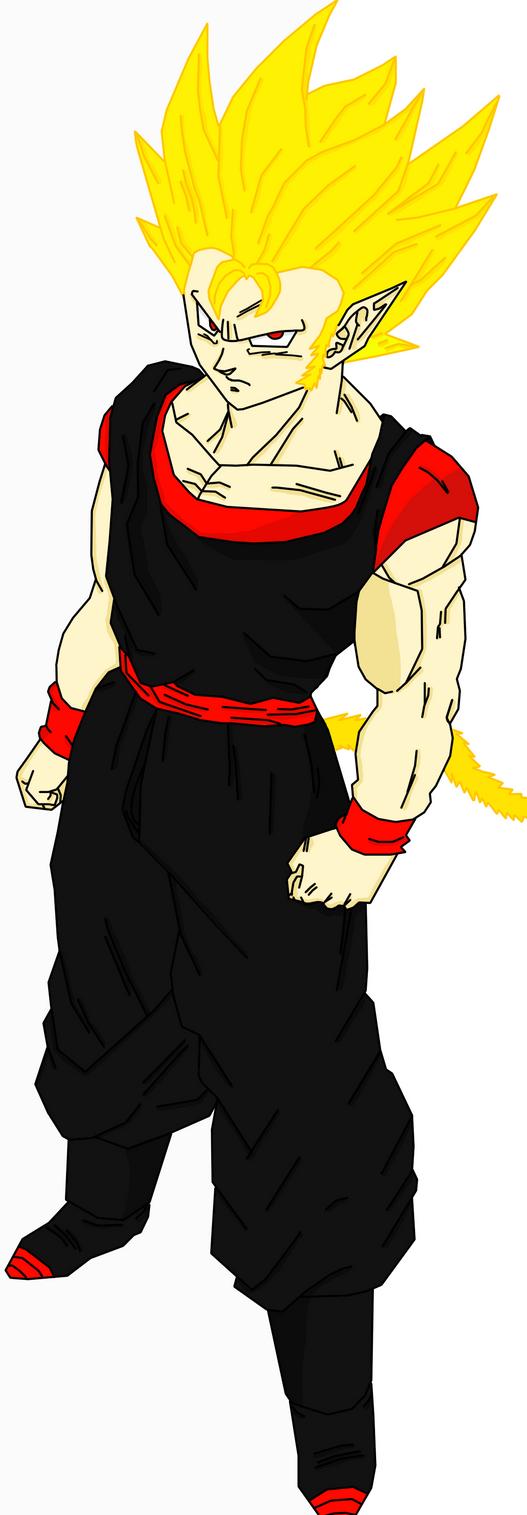 Torock-True Super Saiyan Form by Zelnodi