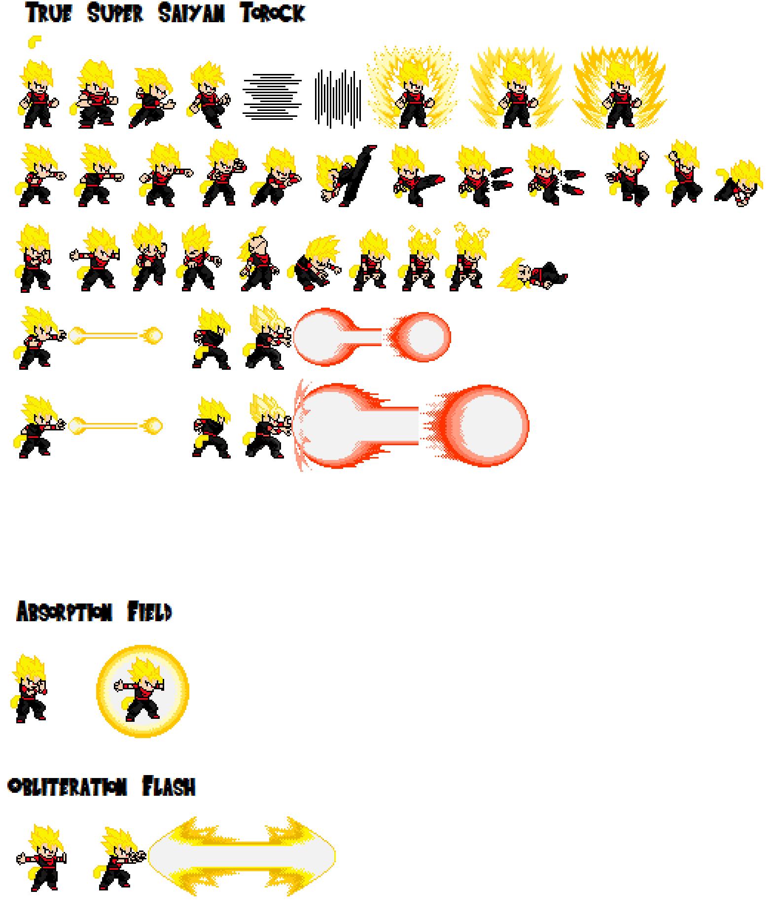 Dragon Ball Z Sprites