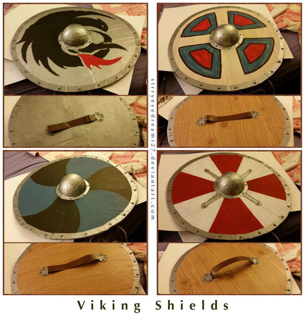 Viking Shields by strryeyedreamr27