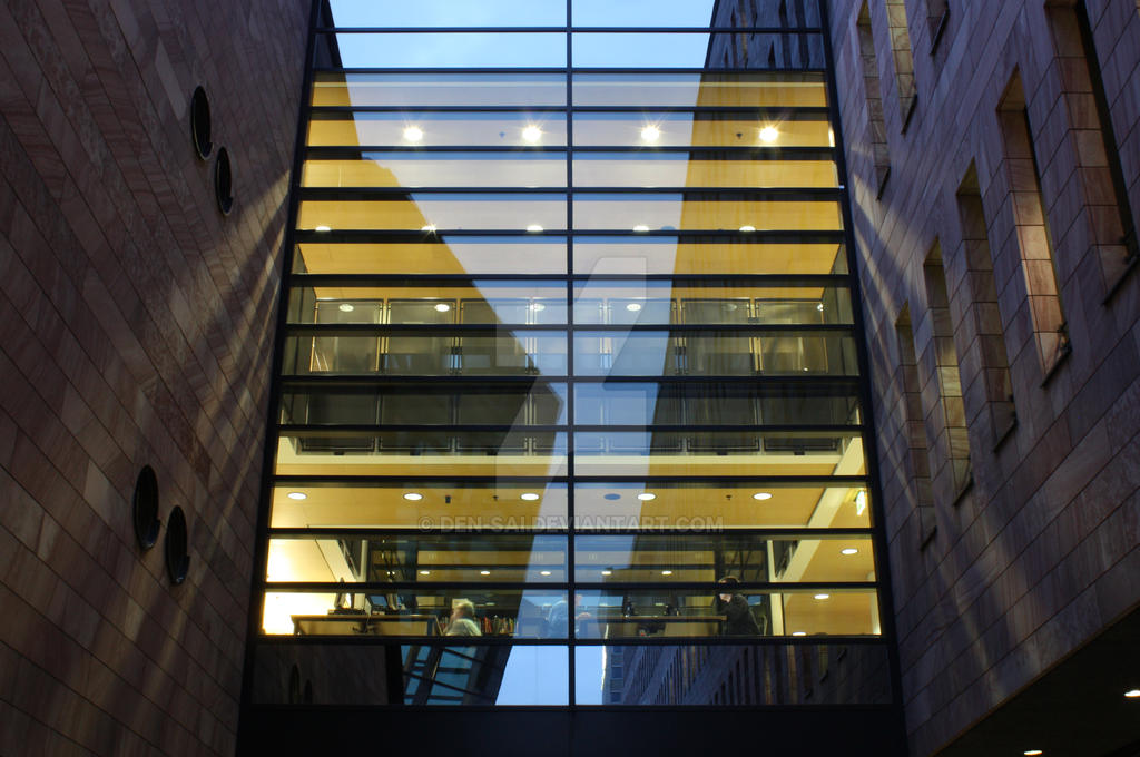 Bibliothek Dortmund 4 by den-sai