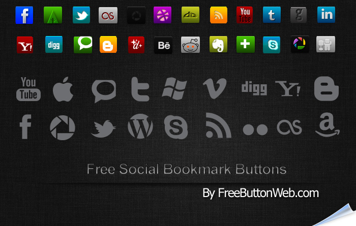 Free Social Bookmark Buttons