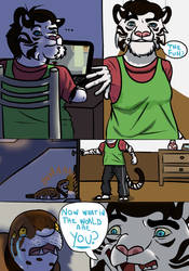 The Ballad of Billy: Chapter 1: Page 4. by RickWhitetiger