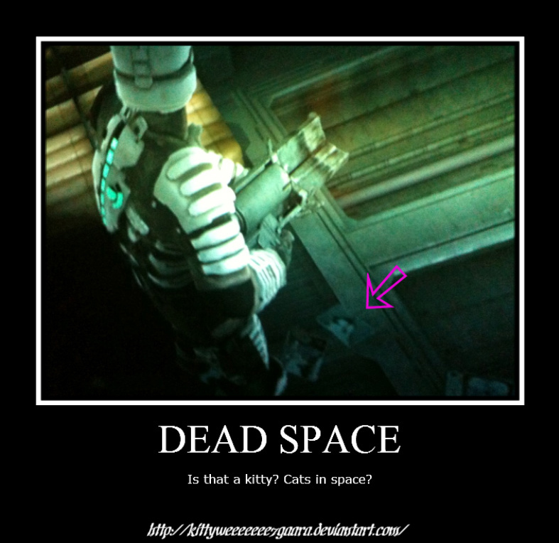 dead_space_kitty_by_kittyweeeeeee7gaara d37oam0 dead space kitty by leonkspiderkitty on deviantart