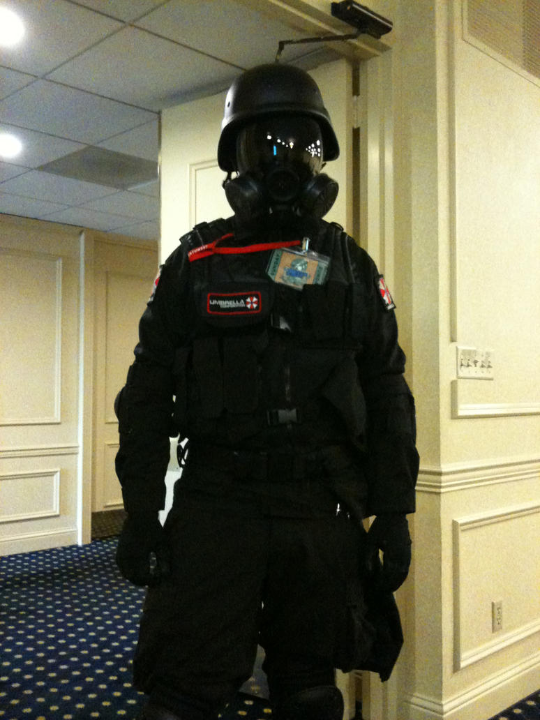 Resident Evil Soldier by LeonKSpiderKitty