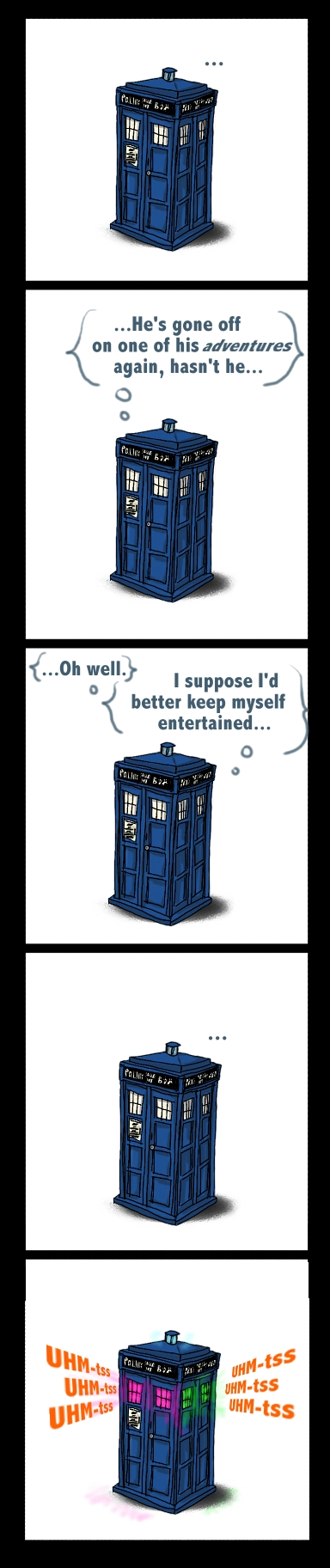 Doctor Who / Доктор Кой - Page 2 TARDISco_by_lady_of_many_hats