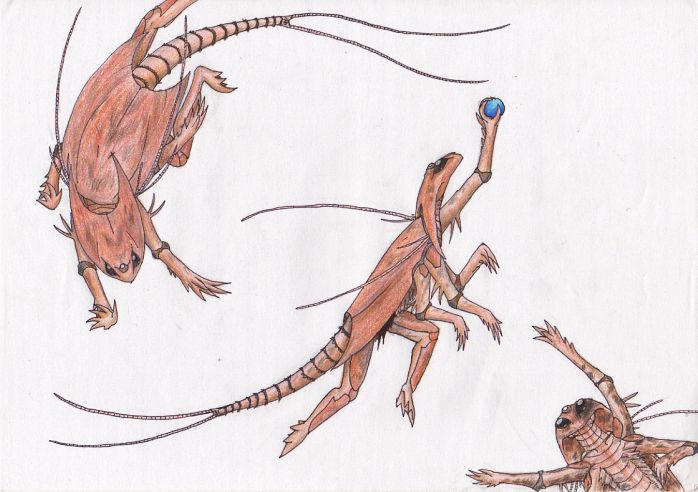 Triops sapiens by QuazarShark