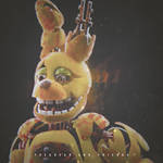 Commission by Dovaah | Realistic Springtrap