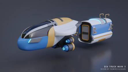 Seatruck Mark 2 Concept  Subnautica Below Zero