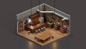 7th Heaven | Isometric Art