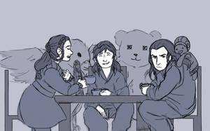 Royal Tea Party by Mhyin