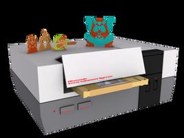 Zelda NES 3D Render by Dias-Jean