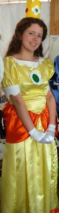 Me Cosplaying As Princess Daisy