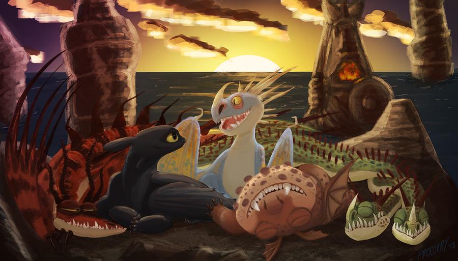 Dragon Pile by Paleokat