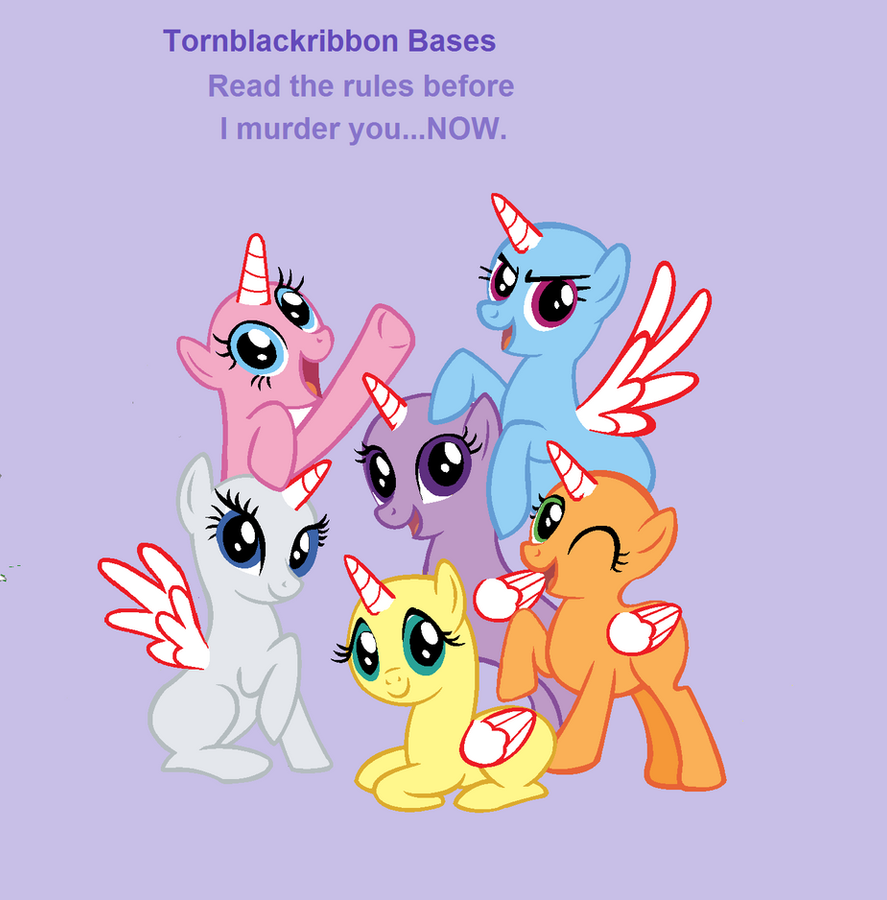 Mlp Base:All Together Now! (BASE) By Tornblackribbons On